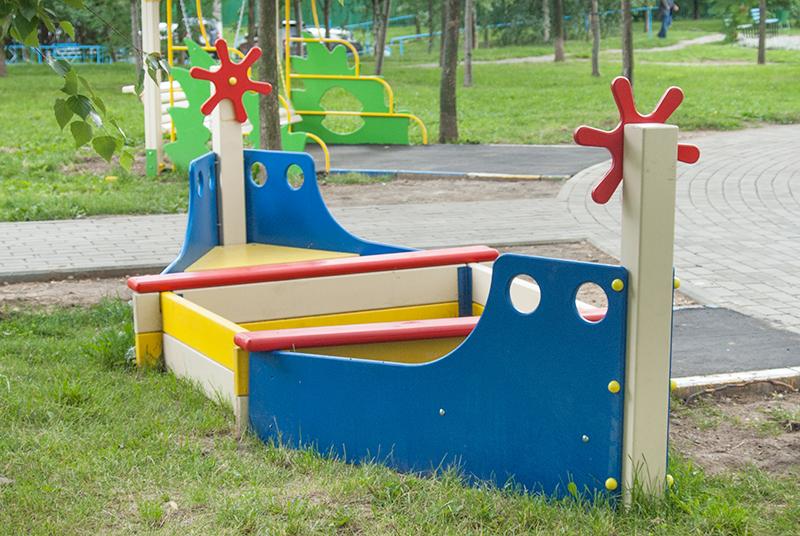 лодка из дерева на детскую площадку своими руками